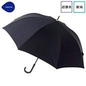 FLOATUS 超撥水傘無地 耐風長傘 ブラック