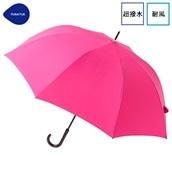 FLOATUS 超撥水傘無地 耐風長傘 ピンク