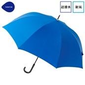 FLOATUS 超撥水傘無地 耐風長傘 ブルー
