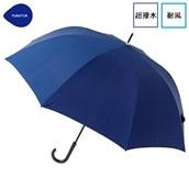 FLOATUS 超撥水傘無地 耐風長傘 ネイビー