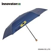 innovator 58cm軽量折りたたみ雨傘 ネイビー