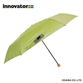innovator 58cm軽量折りたたみ雨傘 グリーン
