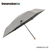innovator 60cm晴雨兼用折りたたみ傘 Sグレー
