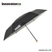 innovator 60cm晴雨兼用折りたたみ傘 ブラック
