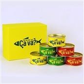 サヴァ缶アソートセット3種6缶 送料込