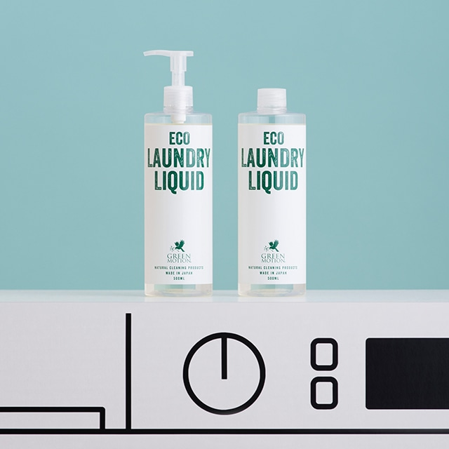 \ポイント5倍/天然成分100%洗剤 エコランドリーリキッドリフィル500ml