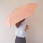 \ポイント5倍/mabuリフレクタープリント折りたたみ傘ブランチ