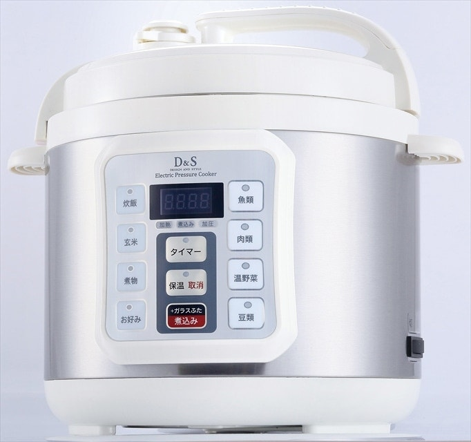 D&S 家庭用マイコン電気圧力鍋4.0L