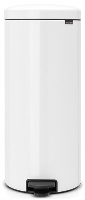 <新入学・新生活2019>brabantia ペダルビン30L ホワイト