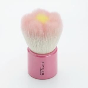 熊野筆 フラワー洗顔ブラシ ピンク