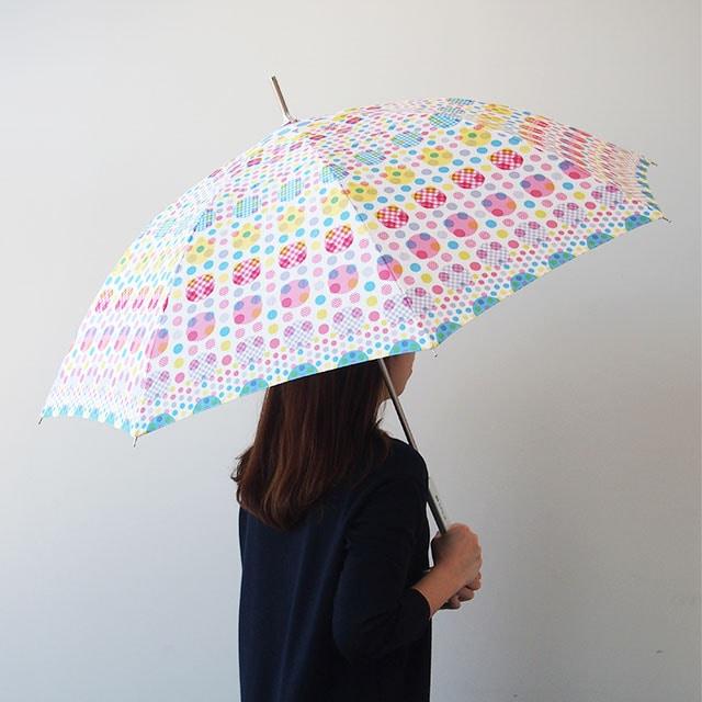 Estaa×mt長傘(UV)ランダムドット