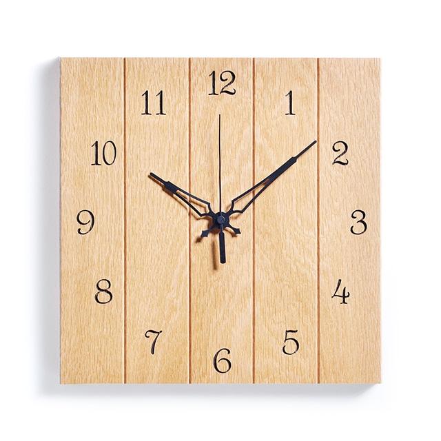 \ポイント5倍/ササキ工芸 木製壁掛け時計 メープル