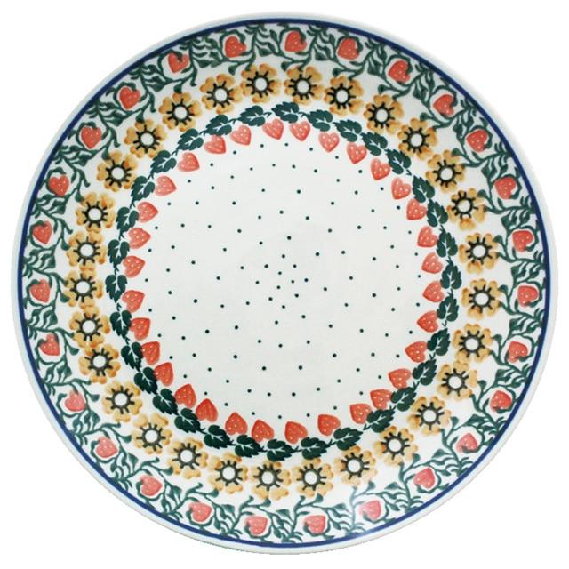 ツェラミカ アルティスティチナ 24cmプレート(レッド)