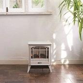 <冬グッズ2019>電気暖炉 Dinky Stove ペブルグレー