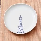 KIHARA TOKYO ICON プレートS 東京タワー