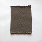 絹屋 極薄2mmのびのびシルク腹巻墨