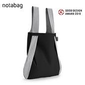 not a bag ブラックグレー
