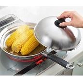 美味彩菜フライパンにのせて使う蒸しプレート24〜26cm