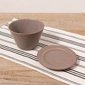 美濃焼 取皿マルチボールセット(グレージュ)