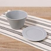 美濃焼 取皿マルチボールセット(グレーマット)