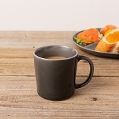 美濃焼 カフェズ ナチュラルマグカップ(グレー)
