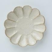 美濃焼 リンカ プレート17cm(白)