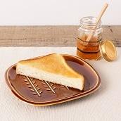 美濃焼 アメ釉小枝パン皿