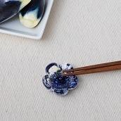 江戸硝子うきよシリーズ 花箸置き ほたる