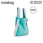 【エコバッグプレゼント対象商品】トートにもリュックにもなるNotabag mini Reflective ミント