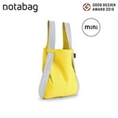 【エコバッグプレゼント対象商品】トートにもリュックにもなるNotabag mini Reflective イエロー