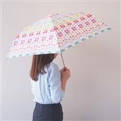 Estaa×mtミニ傘(UV)ランダムドット