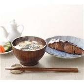暮らしなでしこ限定企画 ナツメ椀&カエデ箸セット(バターナイフ付)