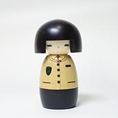 四季島 オリジナルこけし クルー(フォーマル)