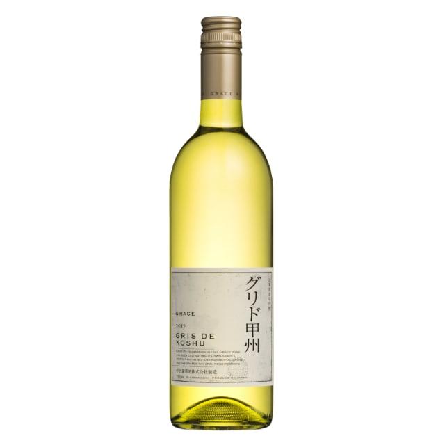 【酒類】中央葡萄酒 グレイス グリド甲州 2017