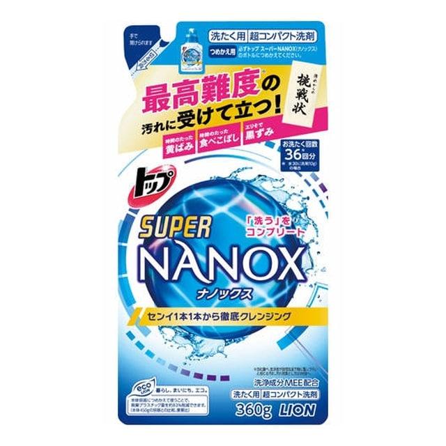 トップ スーパーNANOX つめかえ用 360g