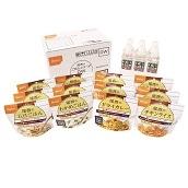 家庭用保存食アルファ米セット 12食セット+保存水6本 和風・洋風組合せ