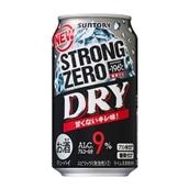 【酒類】−196℃ストロングゼロ<DRY>350ml×24本