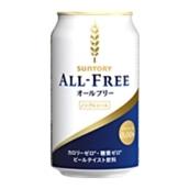 【酒類】サントリー オールフリー 350ml×24