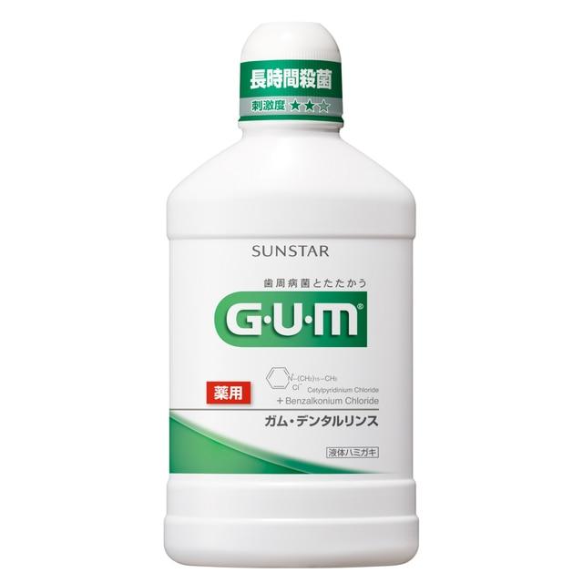 GUM デンタルリンス レギュラー 500ml