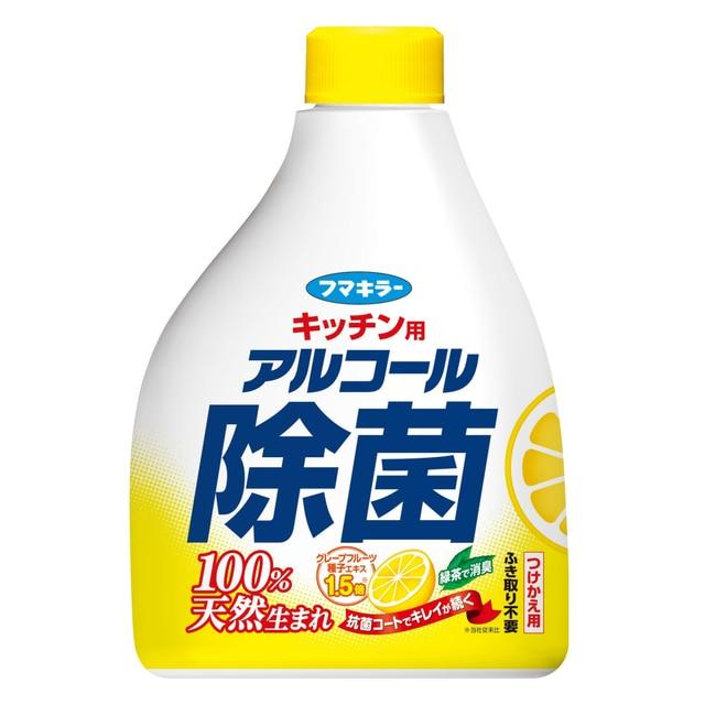 フマキラーキッチン用アルコール除菌 替 400ml