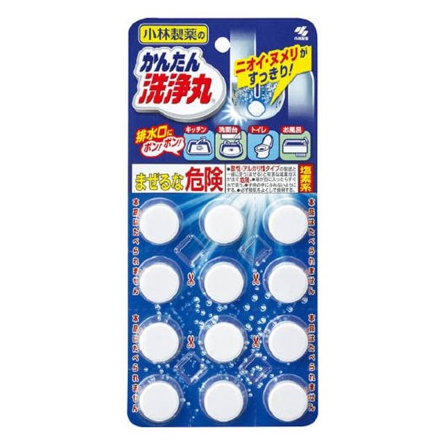 小林製薬 かんたん洗浄丸 12錠