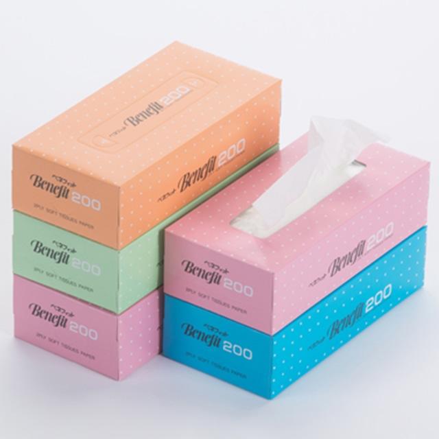 BOXティッシュペーパー200w×5p×12(60BOX)送料込