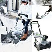 <冬グッズ2019>充電式電動除雪機 スノーホエール