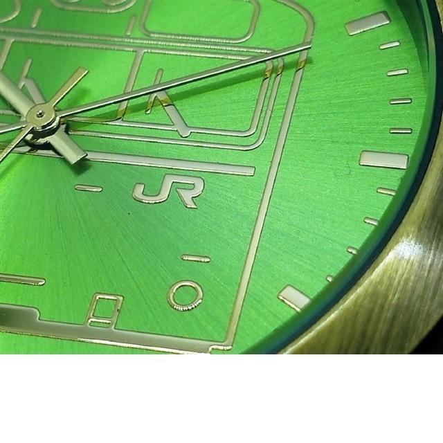数量限定生産!! 103系電車 (ウグイス) 懐中時計