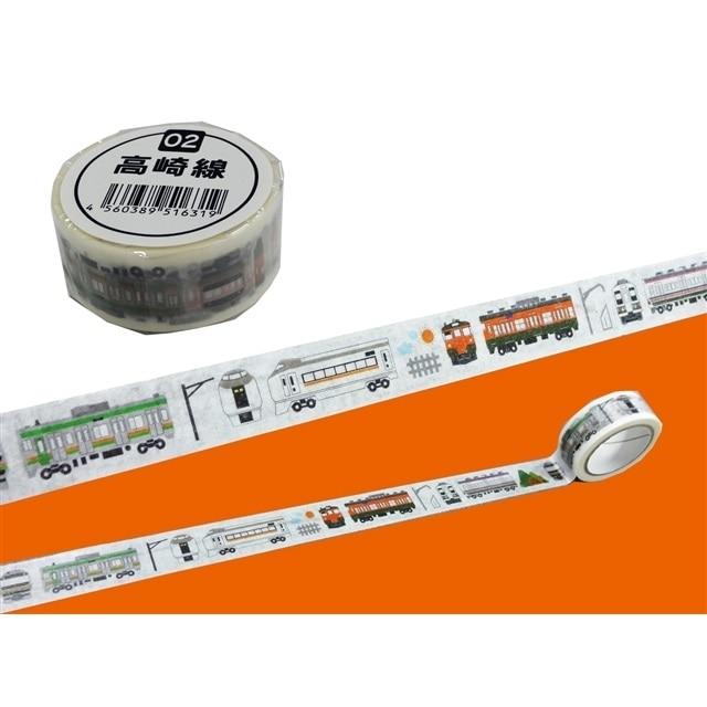 トレインマスキングテープ 高崎線