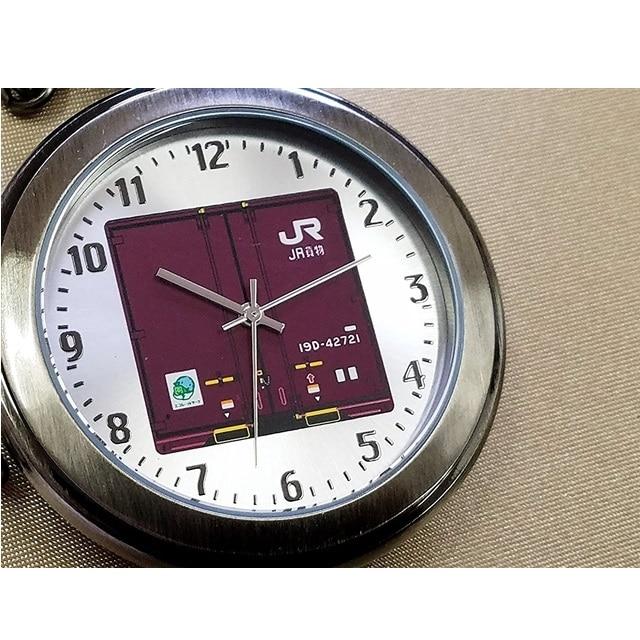 数量限定生産!!JR貨物19D形コンテナ 懐中時計
