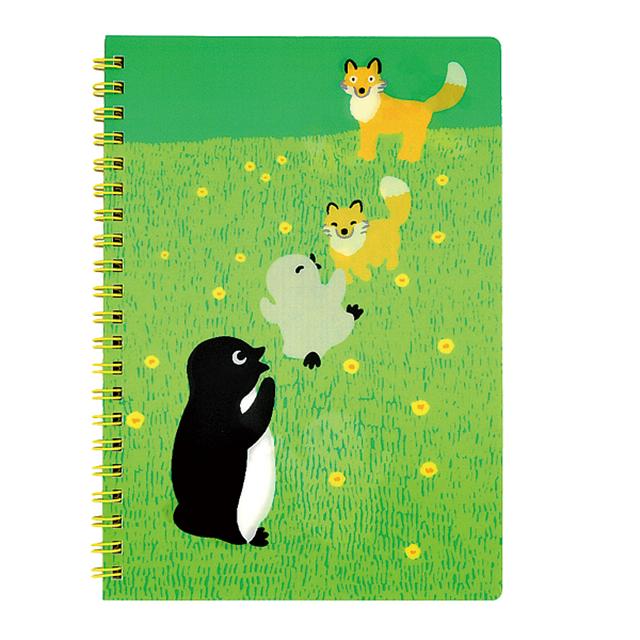 【Suicaグッズ】Suicaのペンギン レンチキュラーノート(キタキツネ)