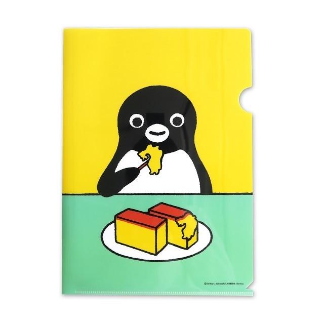 Suicaのペンギンクリアファイル(カステラ)