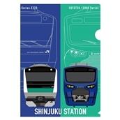 【ND】数量限定予約販売!!新宿駅135周年 第2弾! クリアファイル
