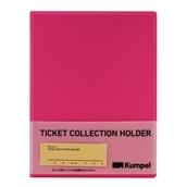 【kumpel】チケットコレクションホルダー(ピンク)